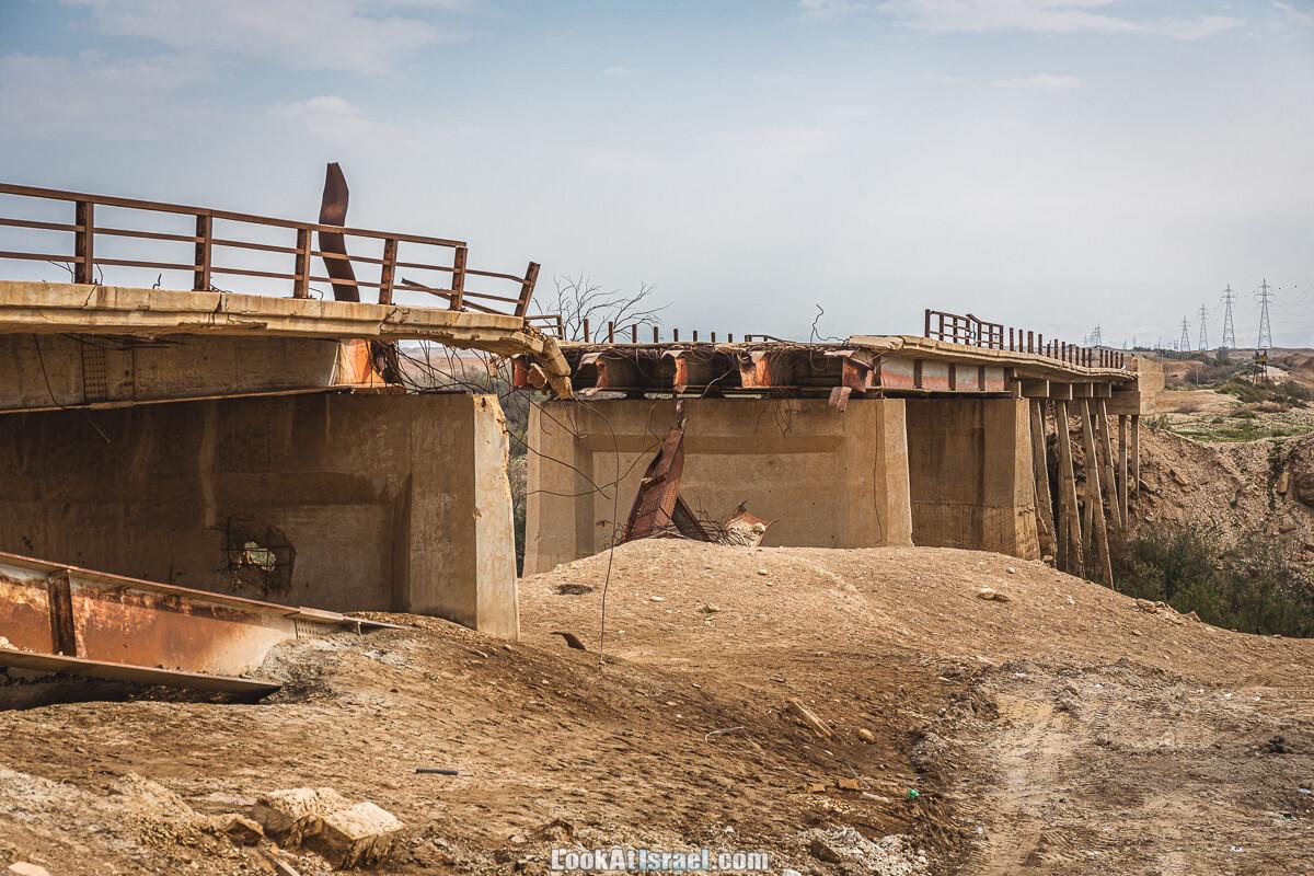 Мост короля Абдаллы, затопление Каср эль-Яхуд и путешествие по Мацок а-Этеким | ארץ המנזרים - הצפה בקאסר אל יהוד וגשר עבדאללה | LookAtIsrael.com - Фото путешествия по Израилю