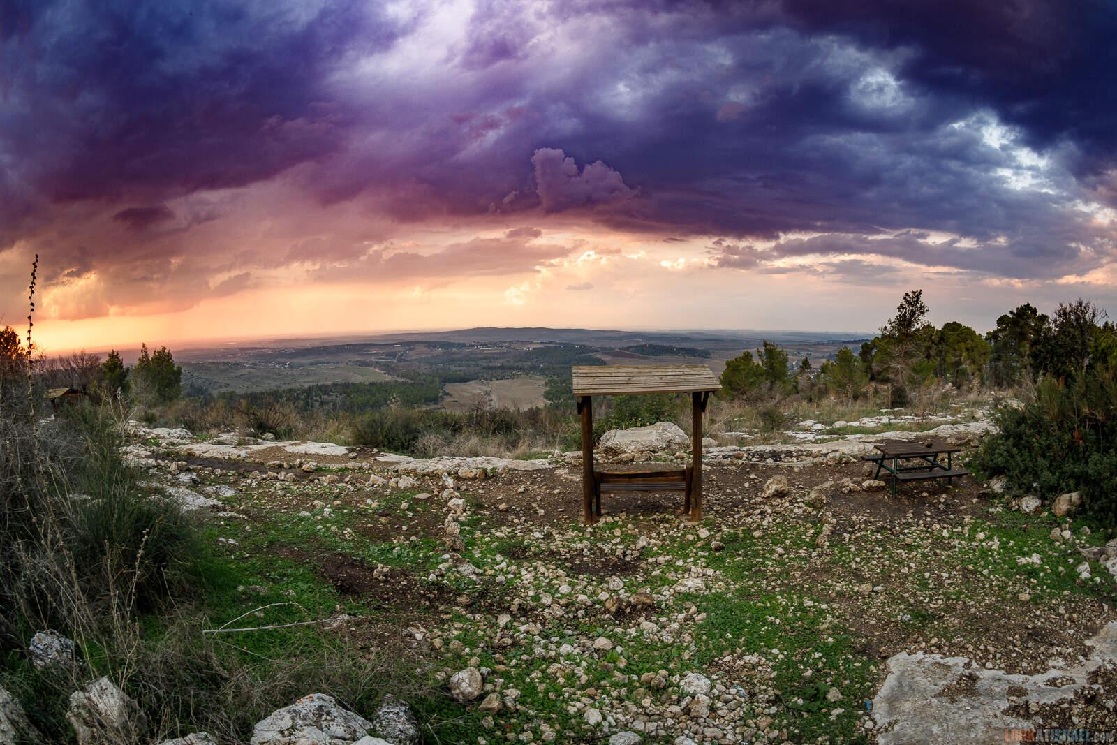 Гора Тнуфа | LookAtIsrael.com - Фото путешествия по Израилю
