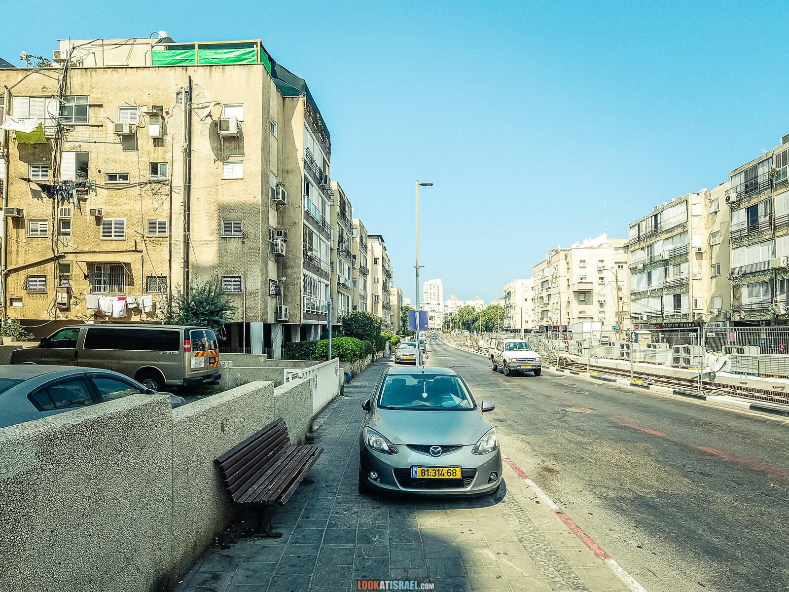 Из Бат Яма через Тель Авив и Яффо в Рамат Ган на электрическом-самокате