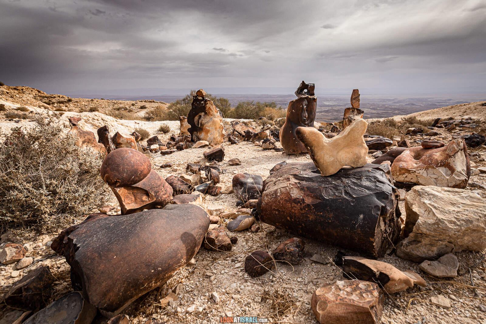 Храм эпохи палеолита на горе Карком | The Paleolithic Temple on mount Karkom | המקדש הפליאוליתי בהר כרכום