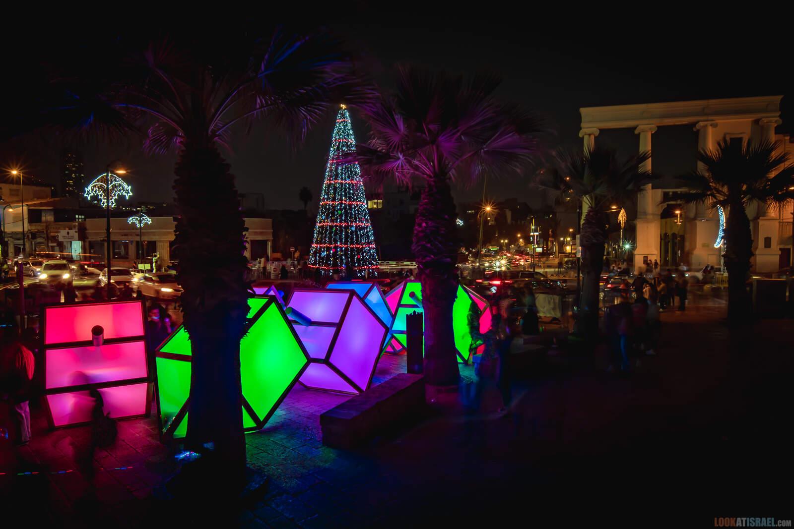 Рождественская ёлка в Яффо 2020