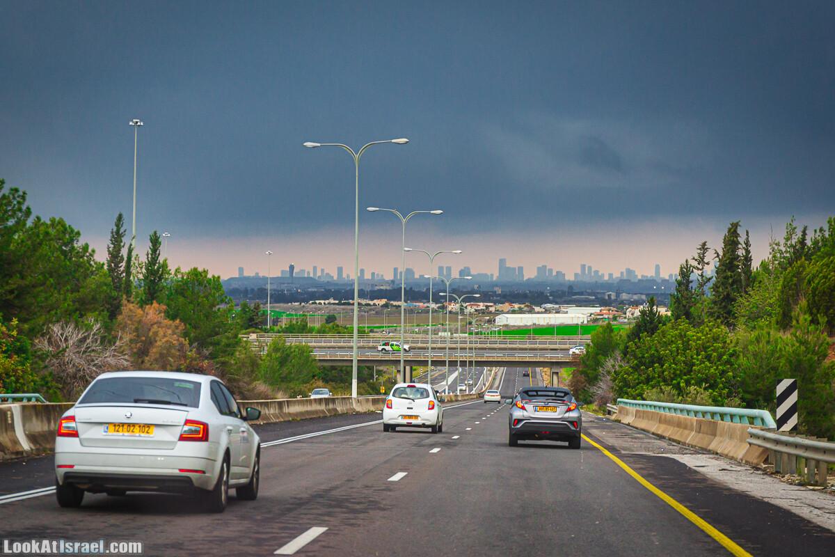 Облачный Тель-Авив | LookAtIsrael.com - Фото путешествия по Израилю
