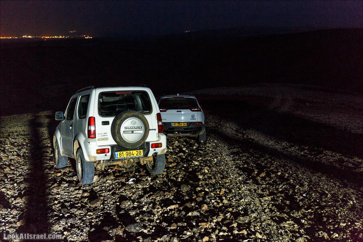 Курс вождения по бездорожью | Итоговый марафон - 2 дня в пустыне - Сакиней Димона - Димонские лезвия | LookAtIsrael.com - Фото путешествия по Израилю