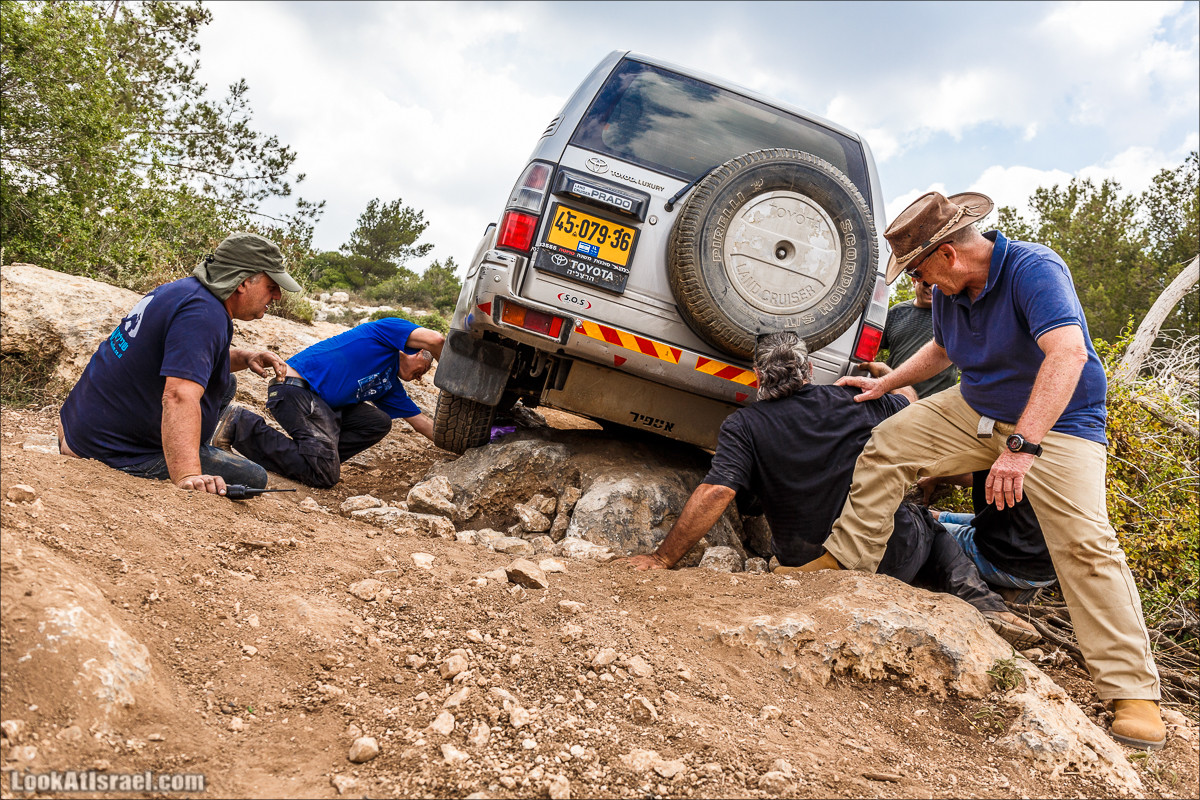 Курс вождения по бездорожью -Мишлае 21 | משלט 21 | LookAtIsrael.com - Фото путешествия по Израилю