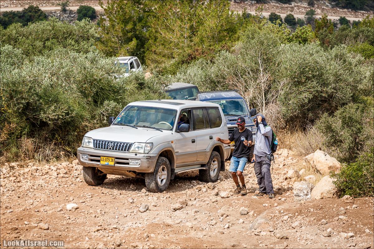 Курс вождения по бездорожью - Мишлат 21 | משלט 21 | LookAtIsrael.com - Фото путешествия по Израилю