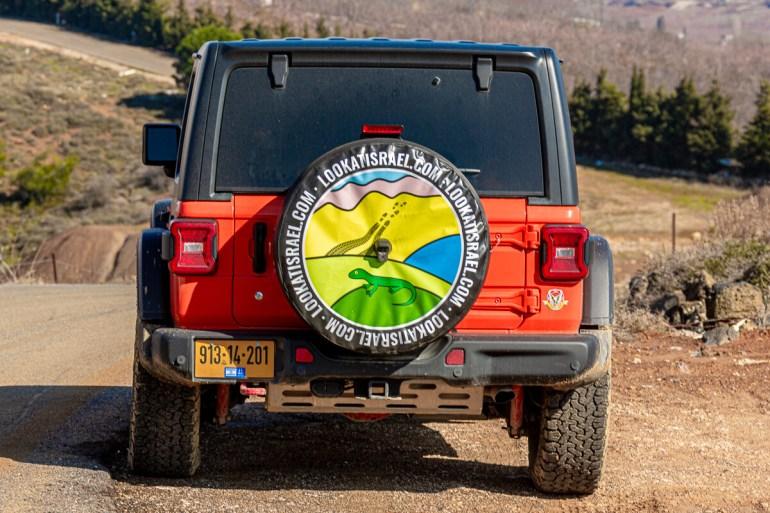 Чехол для Джип Рэнглер JL | Jeep Wrangler Custom Tire Cover | כיסוי אישי לגלגל רזרבי | LookAtIsrael.com - Фото путешествия по Израилю