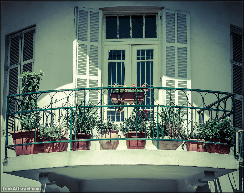 Тель Авивские балконы