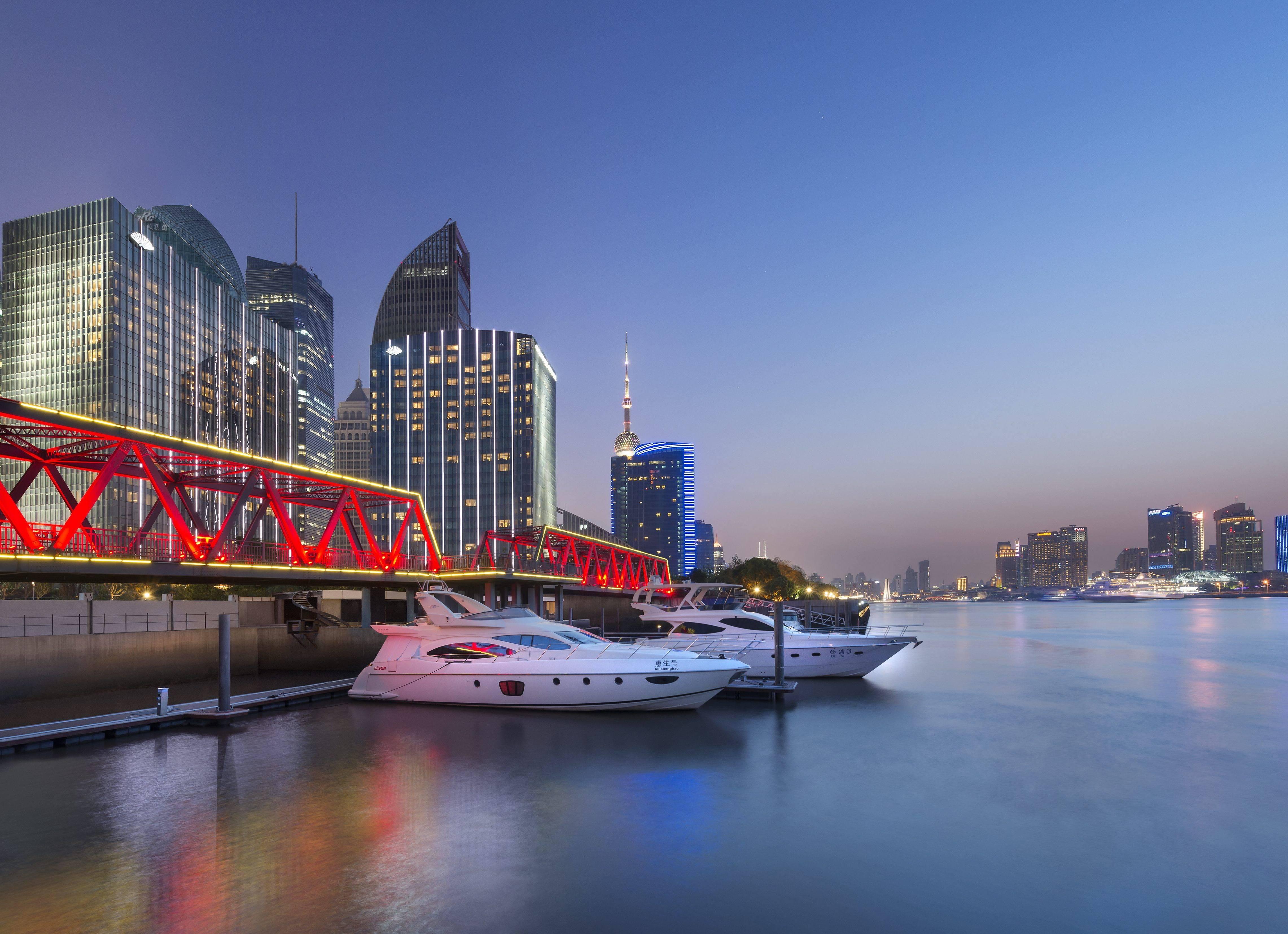 Luxury Hotel In Shanghai Mandarin Oriental Shanghai