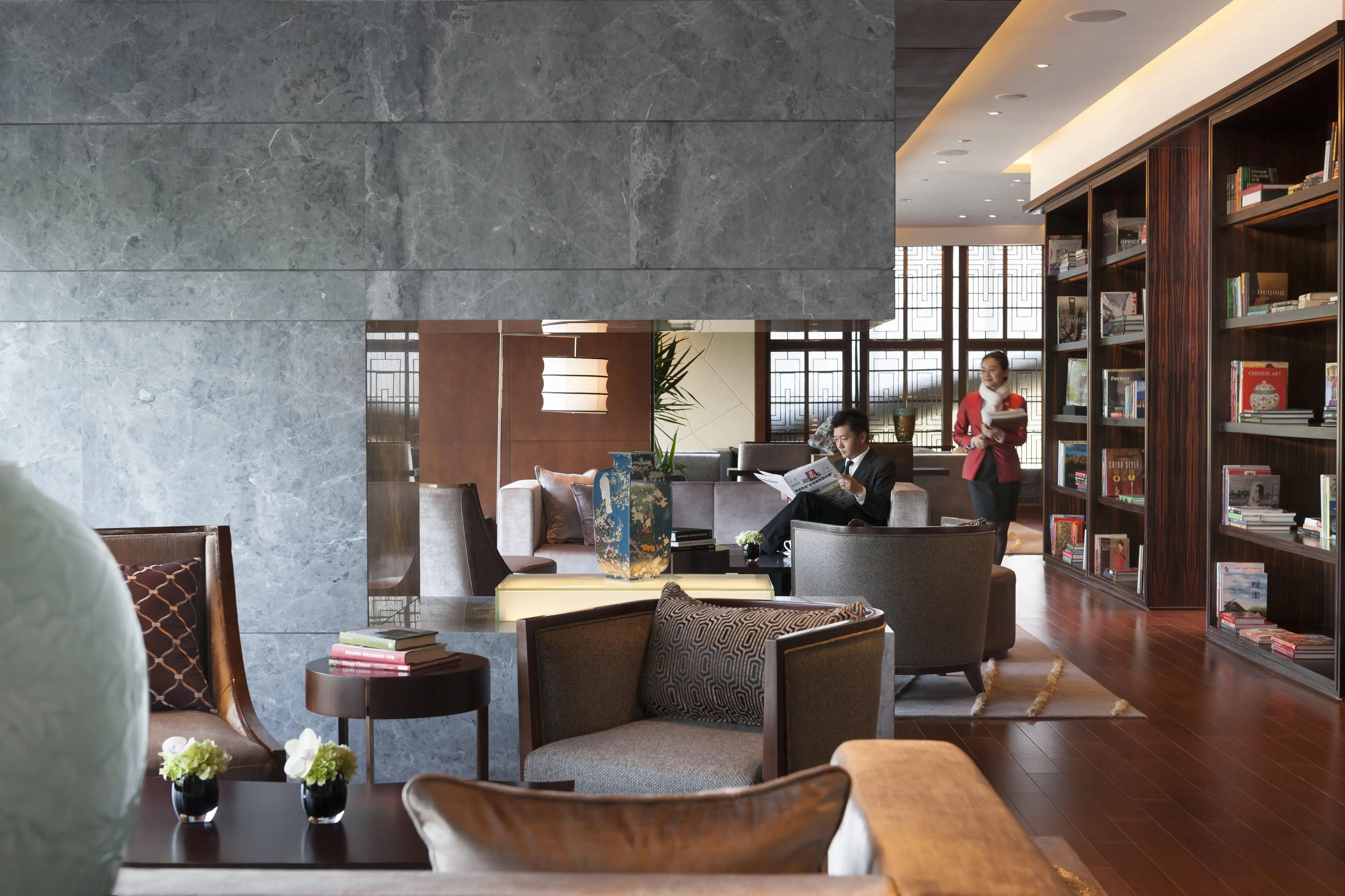 Club Lounge Mandarin Oriental Hotel Shanghai
