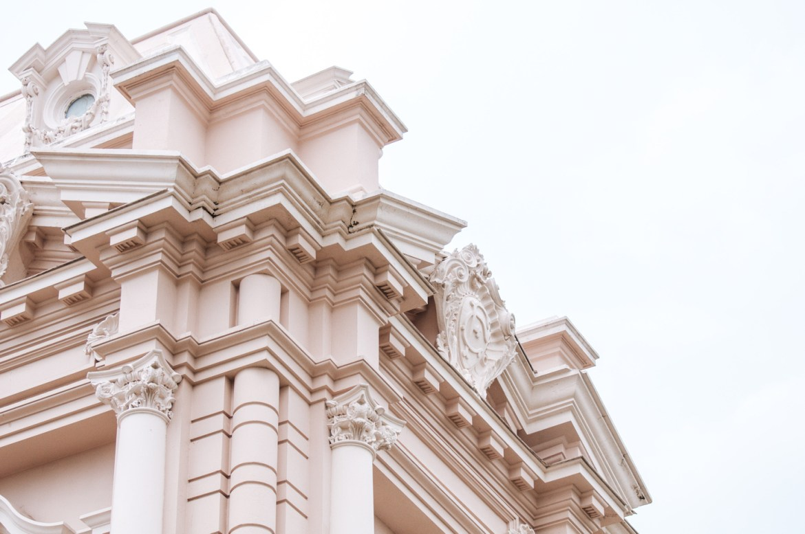 Beaux Arts and French Château Architecture Stock Photos. Detail on Merida, Yucatan, Mexico's Palacio Canton, an exquisite example of Beaux Arts Architecture emulating mid-1800s French architectural design.