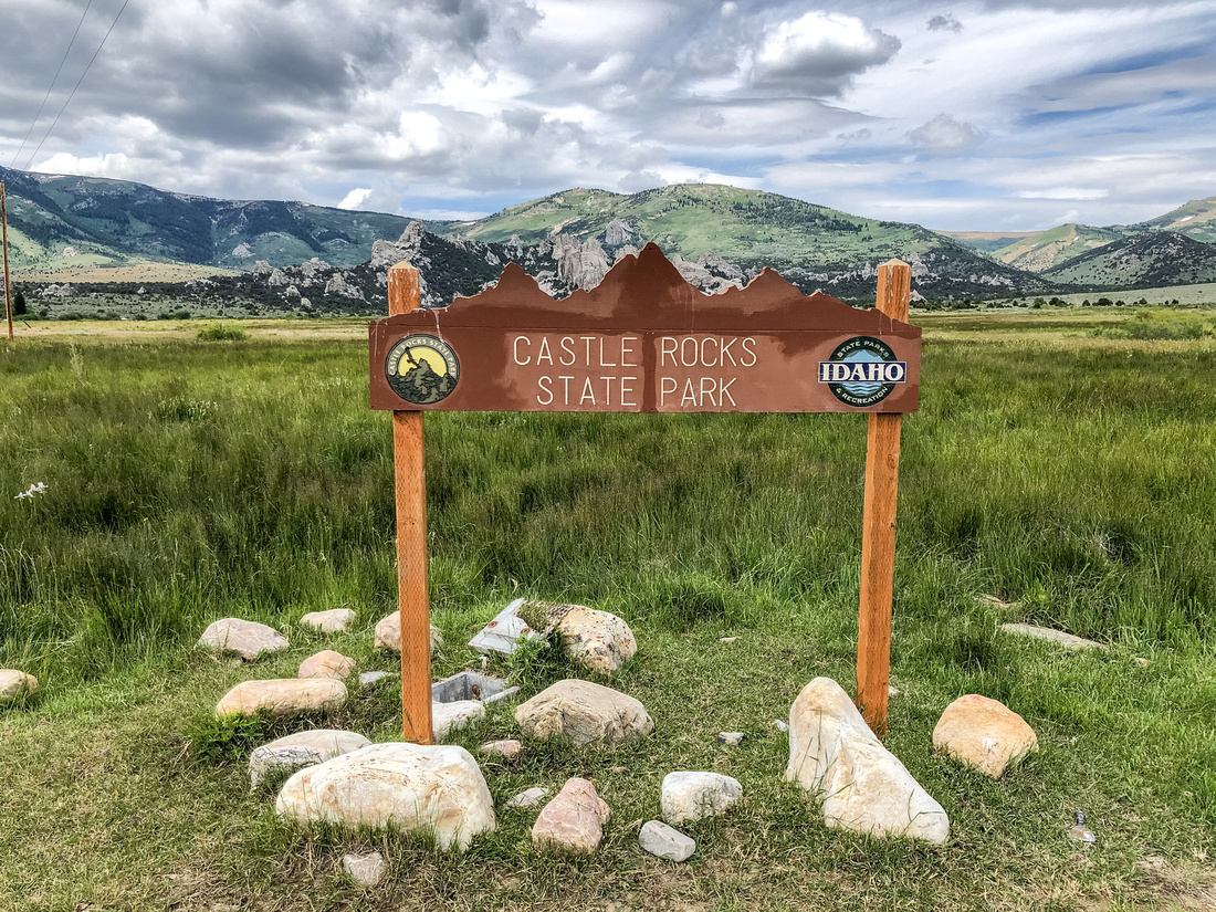 Enjoy the best City of Rocks Idaho Camping - Castle Rocks State Park.  Castle Rocks State Park has two distinct areas, the Smoky Mountain Campground near Almo and the state park recreation area, within the City of Rocks National Reserve.