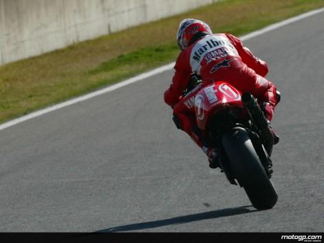Carlos Checa Yamaha YZR500