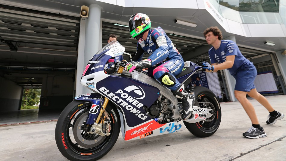 Aleix Espargaro, Power Electronics Aspar - Sepang Official MotoGP Test