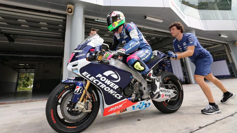 Aleix Espargaro, Power Electronics Aspar - Sepang Official MotoGP Test