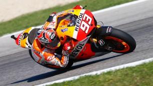 MotoGP Misano FP1 Report Marquez