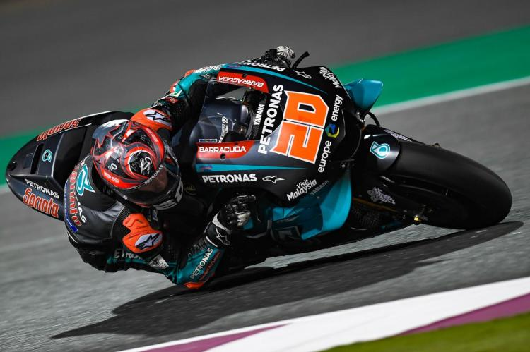 Quartararo nel 2019, anno del suo debutto in MotoGP
