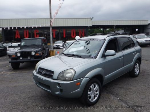 2006 Used Hyundai Tucson at Woodbridge Public Auto Auction ...