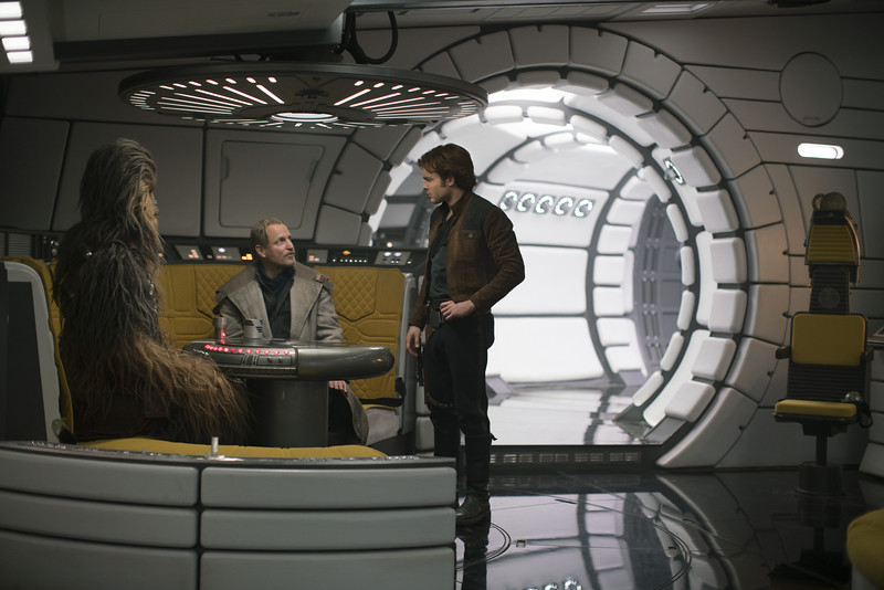 Explore the spotless brand-new Millennium Falcon with Donald Glover