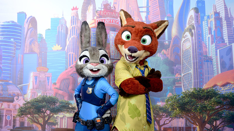 Exclusive zootopia character meet and greet at disneyland resort coming this spring to disney california adventure park youll be able to meet and greet with judy hopps and nick wilde from disneys upcoming animated m4hsunfo