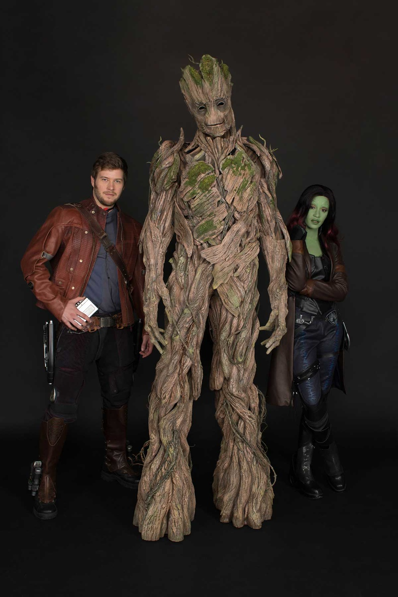Full Sized Groot Character Revealed For Summerofheroes Meet And