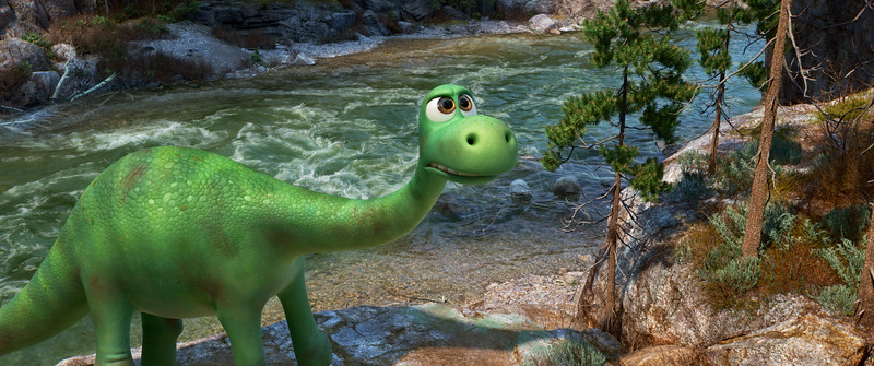 The good dinosaur roars into our homes and hearts