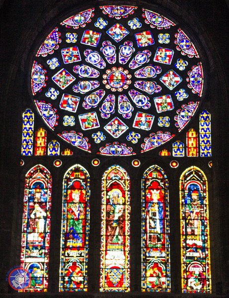 Examples of the Magnificent Stained Glass Windows (©simon@myeclecticimages.com)