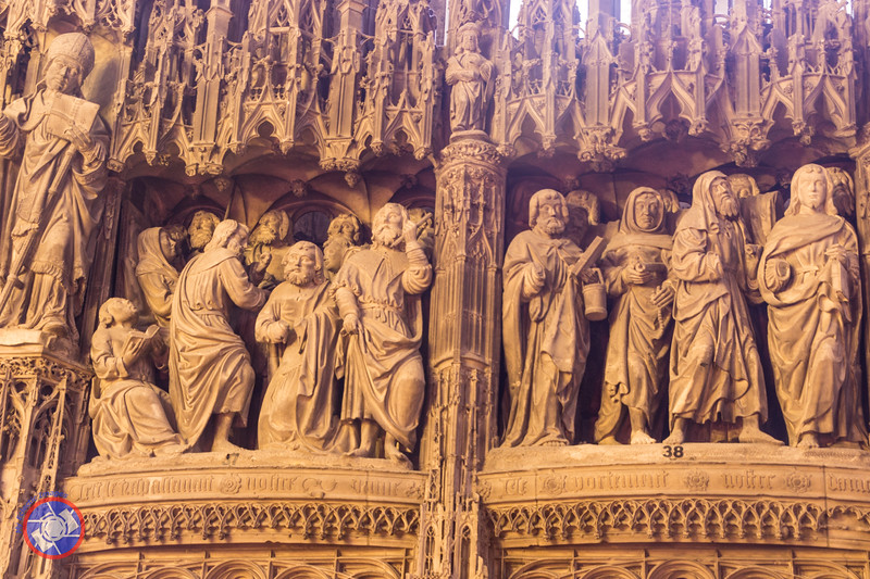 Detail from the Choir Screen (©simon@myeclecticimages.com)