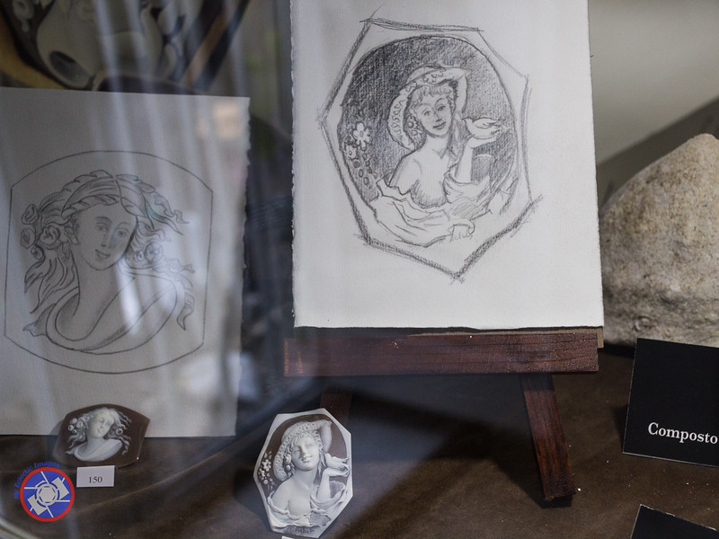 Sketches for the Design of Cameos (©simon@myeclecticimages.com)