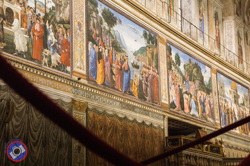 Paintings Featured on Part of One Wall of the Sistine Chapel (©simon@myeclecticimages.com)