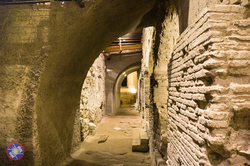 A Street in the Underground Complex at San Lorenzo Maggiore (©simon@myeclecticimages.com)