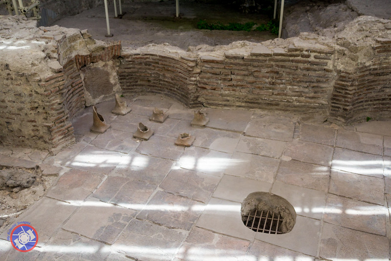Part of the Roman Thermal Baths at the Santa Chiara Complex (©simon@myeclecticimages.com)