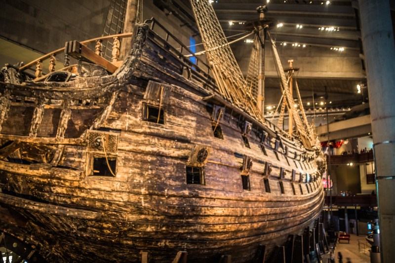 The Vasa - Port Side (©simon@myeclecticimages.com)