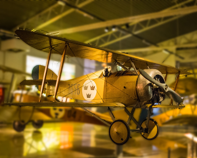 One of the Oldest Planes in the Air Force Museum, Linköping (©simon@myeclecticimages.com)