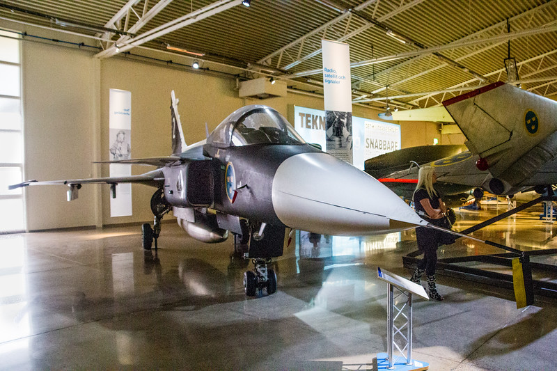 Prototype of the Current Jets Used by the Swedish Air Force, Air Force Museum, Linköping (©simon@myeclecticimages.com)