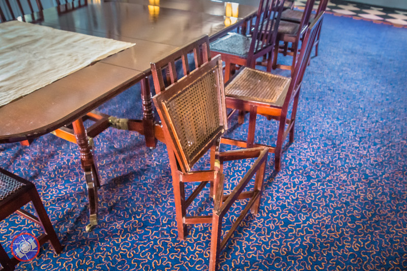 Folding Furniture on Board HMS Victory (©simon@myeclecticimages.com)