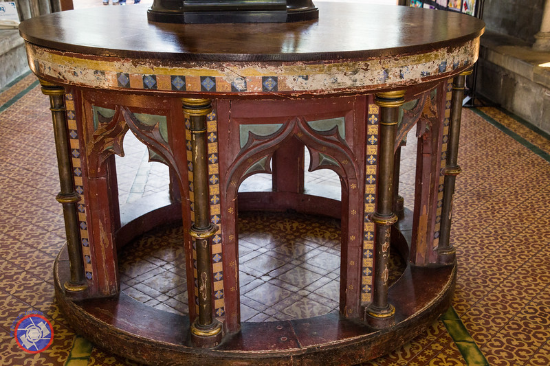 Medieval Table in the Entrance to the Chapter House (©simon@myeclecticimages.com)