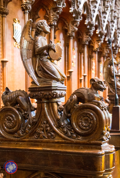 A Carving at the End of the Choir Stalls (©simon@myeclecticimages.com)