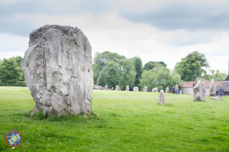 Part of the Main Circle at Avebury (©simon@myeclecticimages.com)