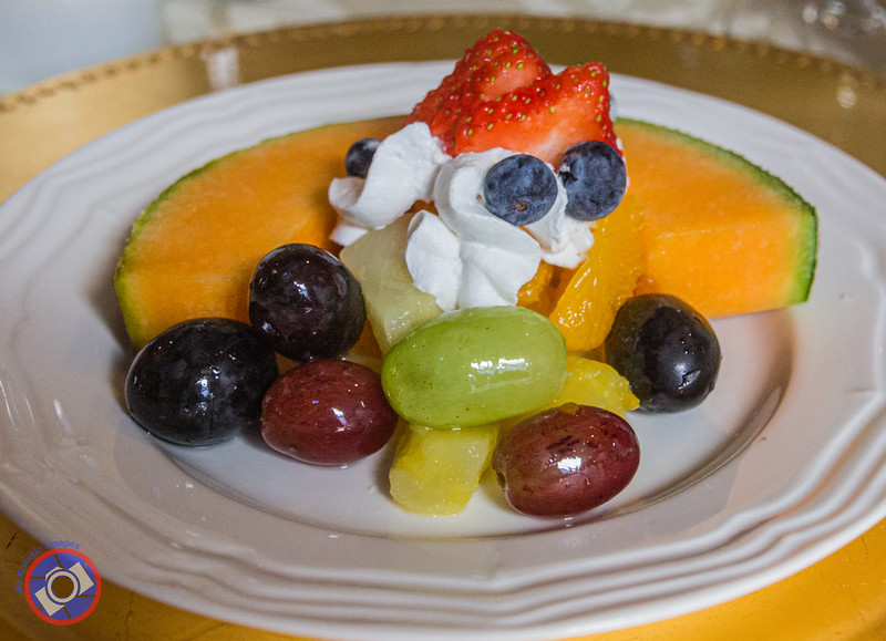 A Fruit Plate Served for Breakfast at the Degas House (©simon@myeclecticimages.com)