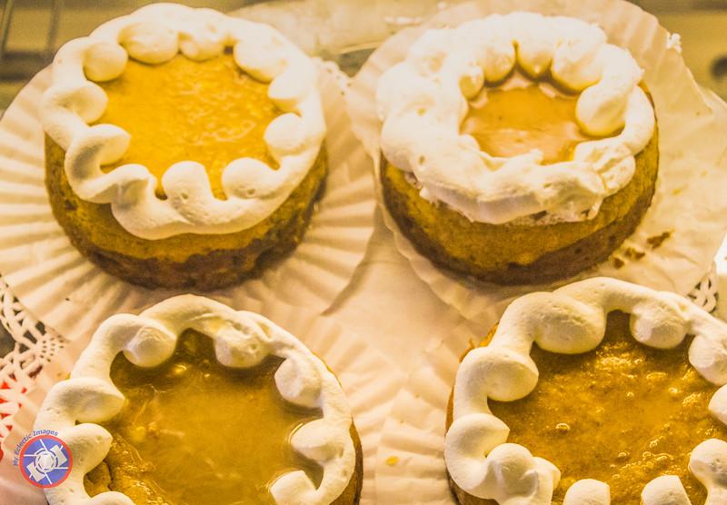Pumpkin Cheesecakes at Hot Shot Bakery N\