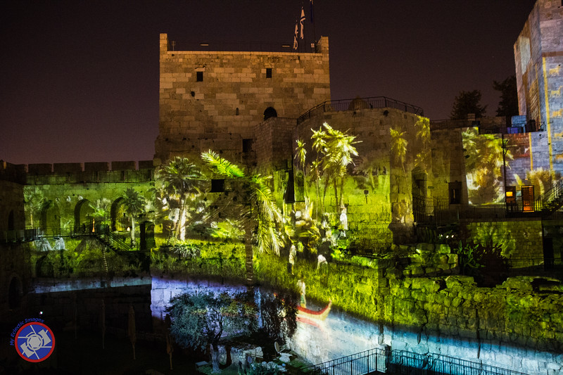 Another Scene from the Night Spectacular at the Tower of David (©simon@myeclecticimages.com)