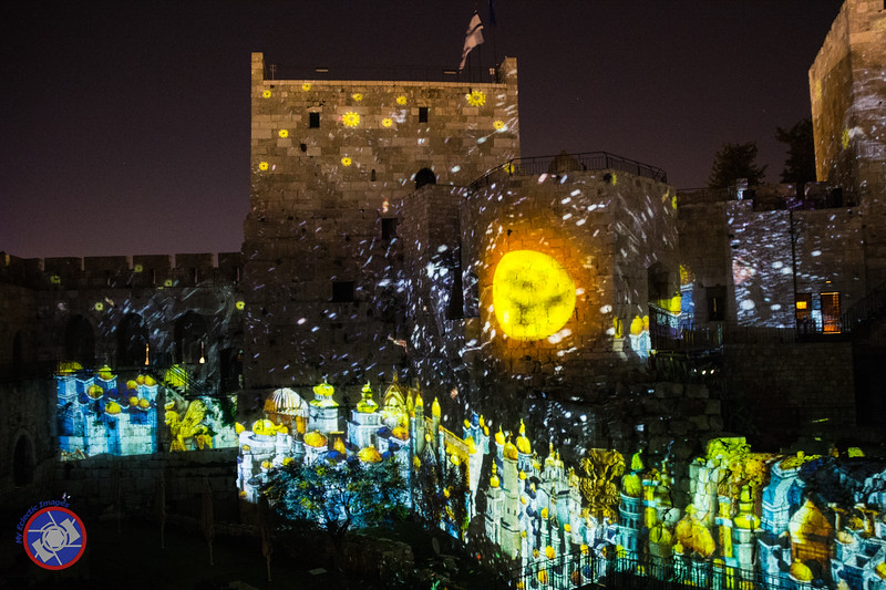 A Scene from the Night Spectacular at the Tower of David (©simon@myeclecticimages.com)