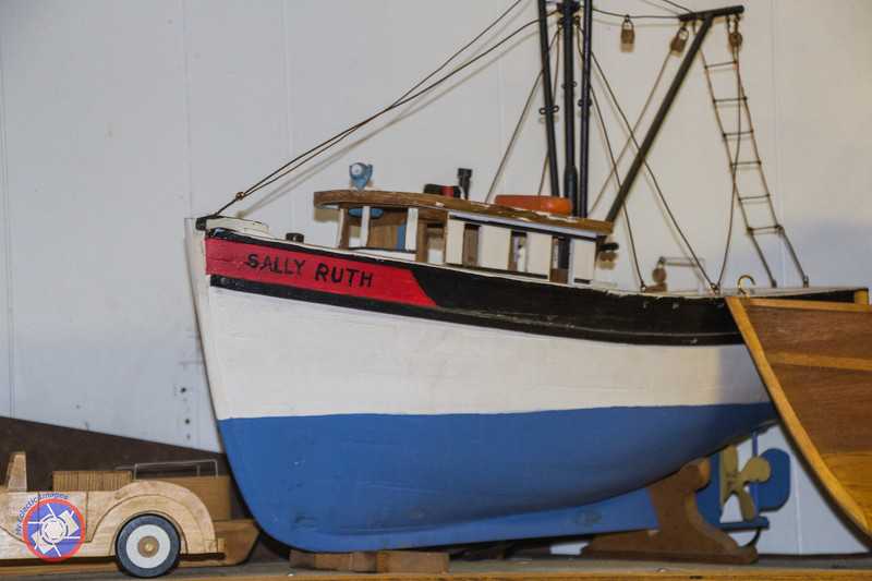 One of the Model Boats Built by Ray Singleton (©simon@myeclecticimages.com)