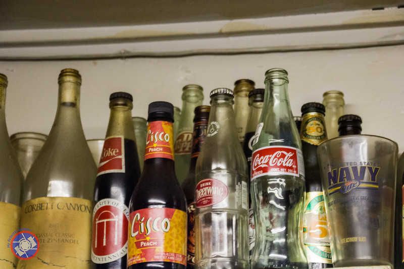 Part of a Large Collection of Old Bottles in Singleton's (©simon@myeclecticimages.com)