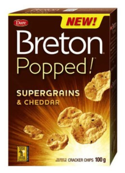 Top 10 Low Point Yummy Weight Watchers Snacks featured by top US life and style blog, Fynes Designs: Breton popped crackers