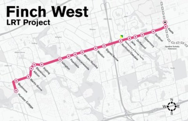 Companies Invited To Submit Bids For Finch West Lrt