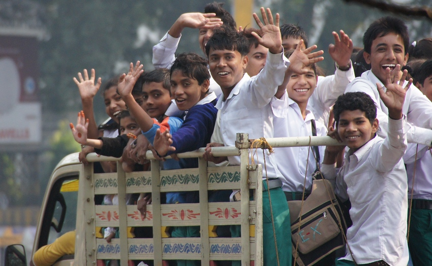 Image result for india child waving images