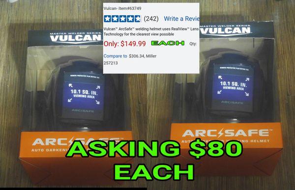 Vulcan Arcsafe Auto Darkening Welding