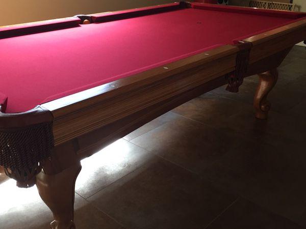 Brunswick Greenbriar Ii 8 Ft Pool Table