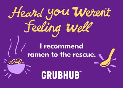 Grubhub Inc Grubhub Introduces Gift Cards